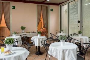 Sala colazione dell'Hotel Center 3